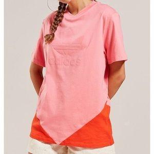 NWT ADIDAS | Colorado Pink Trefoil Logo T Shirt
